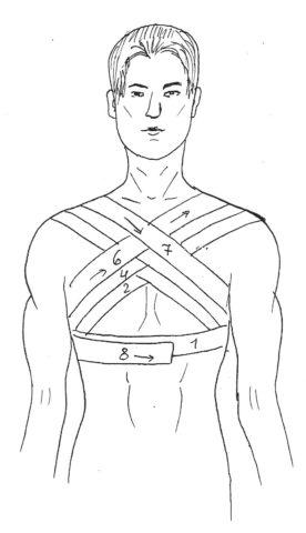 Позволяет ограничить объем движений груди