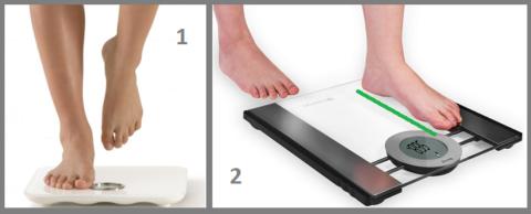 1 – Для начала надо взвеситься, стоя на здоровой ноге (необходима страховка)
