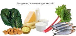 Продукты — полезные для улучшения срастания костей