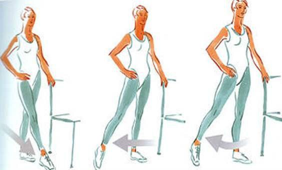 Упражнения после перелома стопы