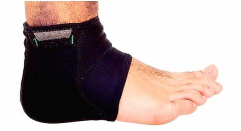 Бандаж для пятки и голеностопного сустава