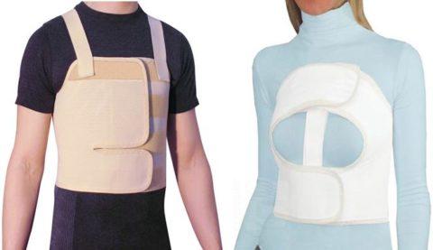 Корсеты используют для транспортировки больных со множественными переломами ребер с подозрением на осложнение травмы.