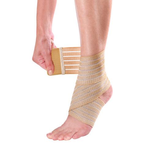 После снятия гипса не стоит пренебрегать фиксирующими повязками и ортезами