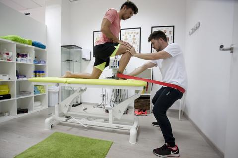 Специальная тренировка, предназначенная для быстрого восстановления силы сустава у спортсменов