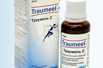 Таблетки, капли или инъекции Траумель С