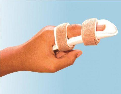 Фабричная лонгетка для любого поврежденного пальца руки