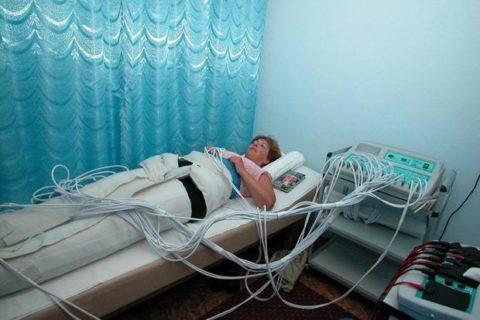Физиопроцедуры являются обязательным методом в комплексном лечении переломов