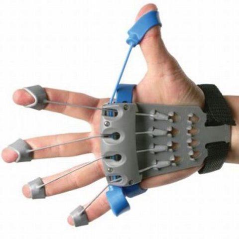 Кистевой тренажер для восстановления пальца после перелома