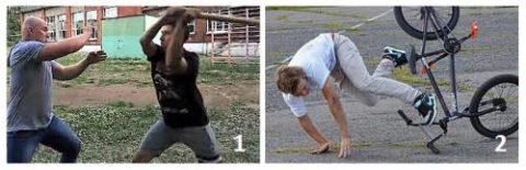 На фото – вероятность получения перелома Монтеджи (1) или Галеацци (2)