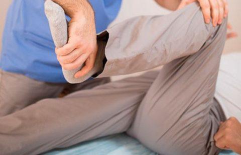 Пассивные упражнения подготавливают конечность к ходьбе
