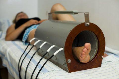 Применение физиопроцедур благоприятно действует на общее состояние пациента