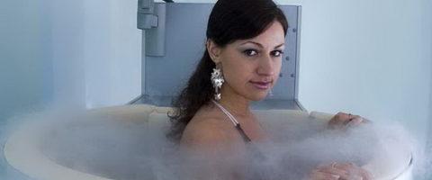 Общая криотерапия в специальной ванне