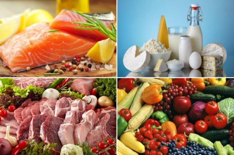 Основные продукты, полезные после переломов