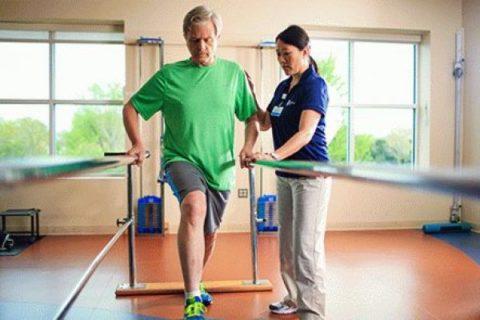 Перелом срастается быстрее за счет усиления кровообращения во время выполнения упражнений