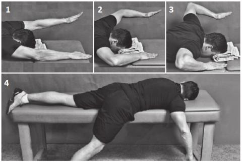 Упражнение для шейно-грудного перехода