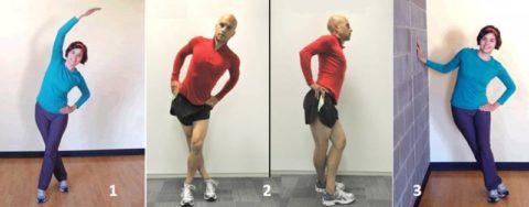 Варианты упражнений на растяжку боковых поверхностей нижних конечностей