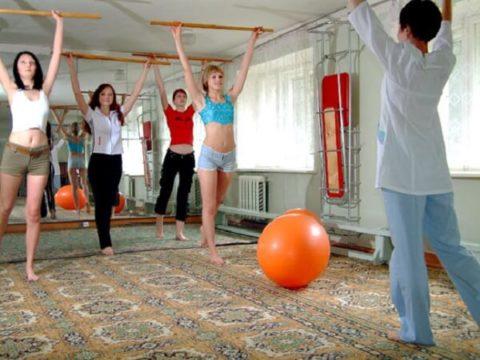 Боль при выполнении упражнений является естественной.
