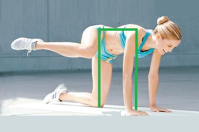 Для боковых мышц бёдер и низа поясницы