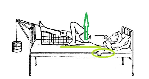 Это упражнение выполняется только после разрешения врача