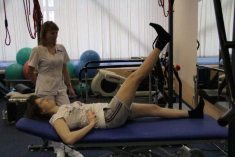 Кинезотерапия для активизации движений в тазобедренном суставе