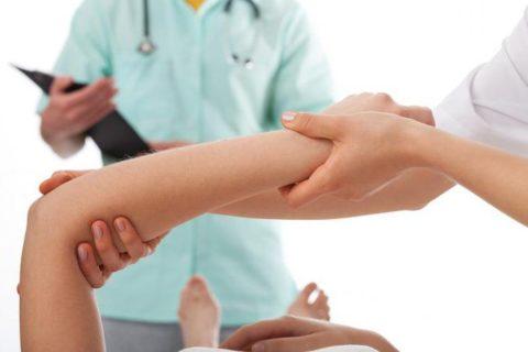 Локтевая кость может быть ушиблена, вывихнута, треснута или сломана