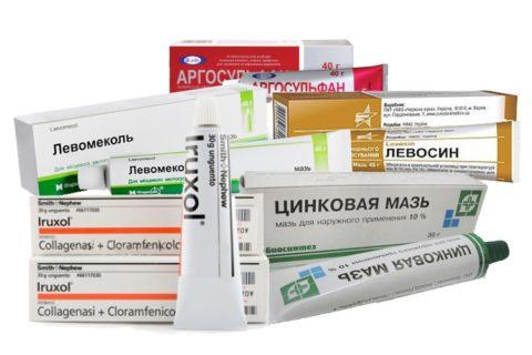 Обработка препаратами поможет для профилактики и лечения пролежней.