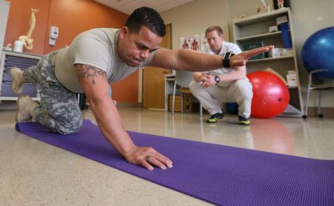 Основным методом восстановления является лечебная гимнастика