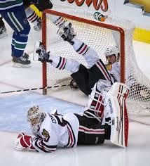 Падение в хоккее
