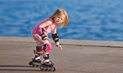 Падении при катании на роликах – частая причина травм