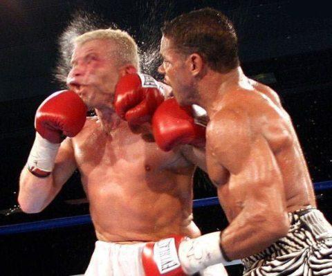 Перелом носа в боксе