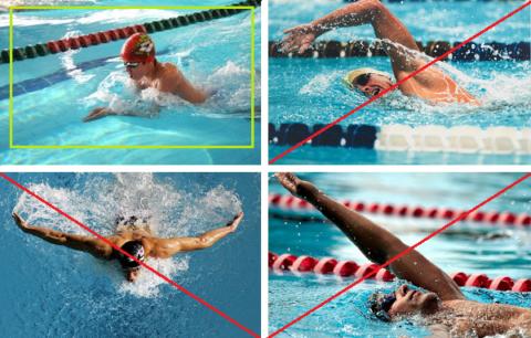 Плавать можно только брассом, другие стили будут разрешены через 6-8 месяцев