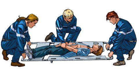 Правила транспортировки травмированных пациентов