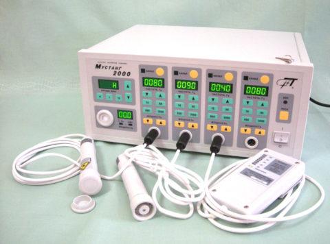 Прибор для лазеротерапии