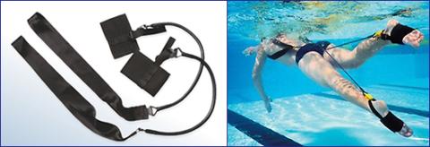 Водные эспандеры для реабилитации переломов ног