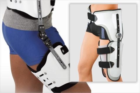 Жесткие бандажи используют на начальных этапах реабилитации после травм.