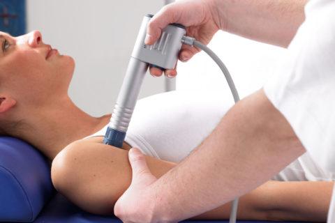 Физиопроцедуры устраняют мышечный спазм