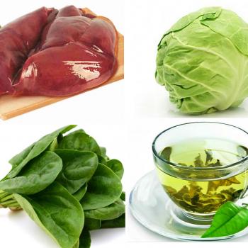 Лидеры по содержанию витамина К