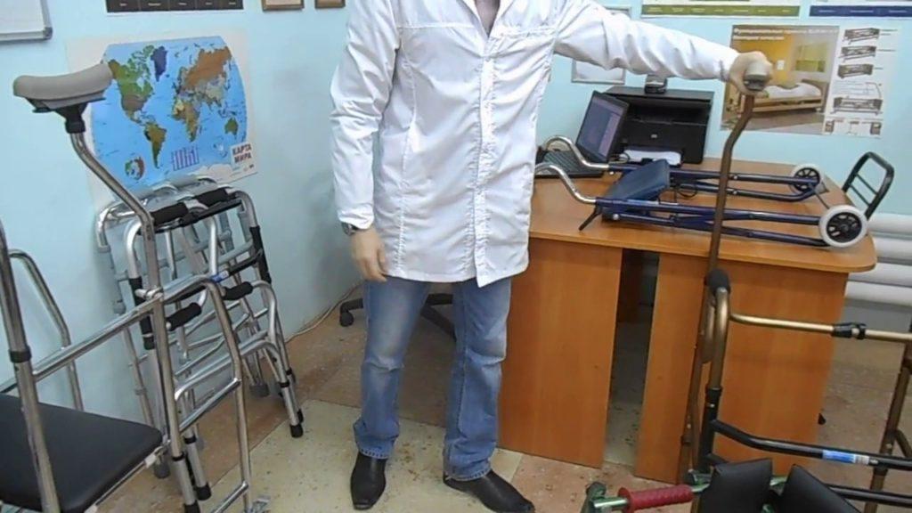 Ходунки после операции на тазобедренном