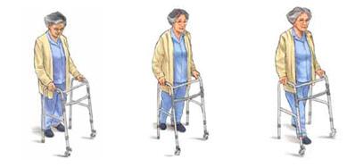 Первые три шага с ходунками