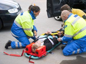 Транспортное положение при травме позвоночника