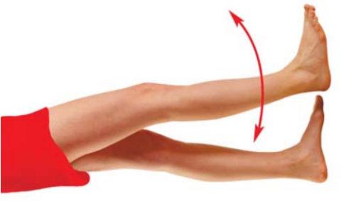 Простейшие упражнения необходимо выполнять даже в первые дни после перелома, это предотвратит явление лимфостаза.