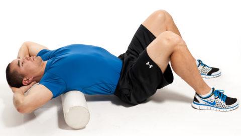 Пенный ролик - отличный помощник в реабилитации гибкости спины