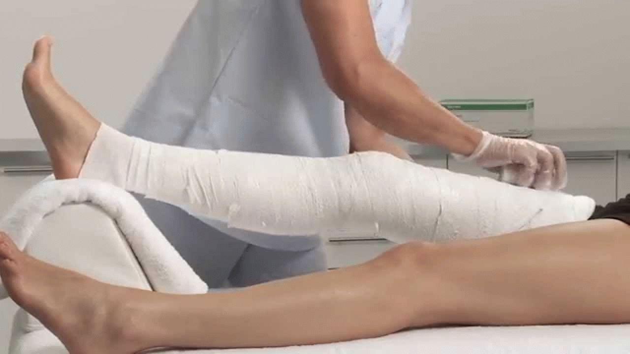 разработка коленного сустава после снятия гипса распариванием удобный