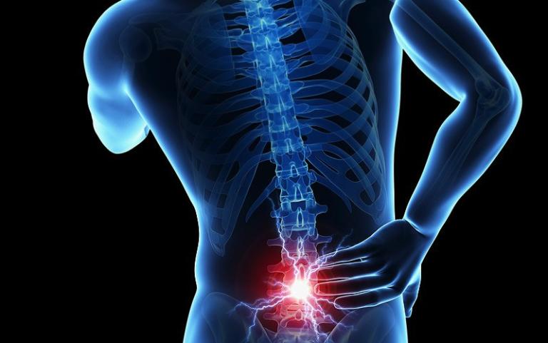 Тянущая боль в низу позвоночника