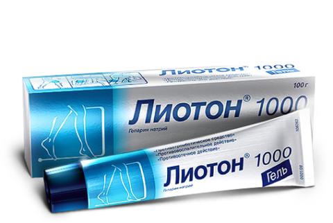 Лиотон-1000 снимет отеки после повреждения костных тканей.