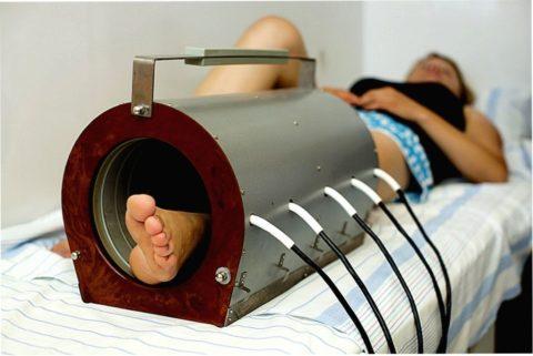 Магнитотерапия хорошо помогает от проблем с опорно-двигательным аппаратом