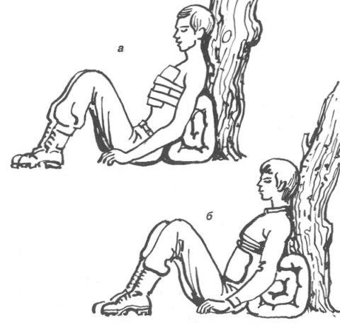 Полусидячее положение обеспечивает легкость дыхания
