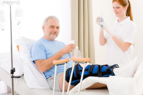 После любой травмы больного ждет длительный период реабилитации