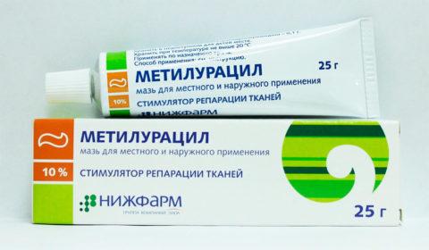 Ранозаживляющие лекарства ускоряют процесс заживления.