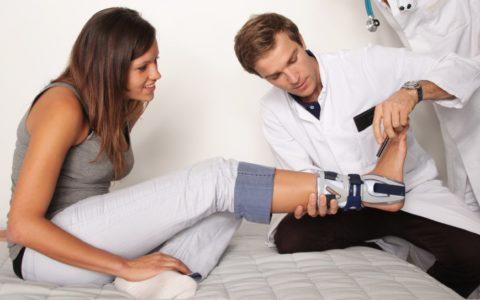 Сращение сломанной кости должно проходить под контролем специалиста